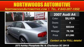 [Audi Sedans For Sale N Charleston SC | Northwoods Automotive] Video