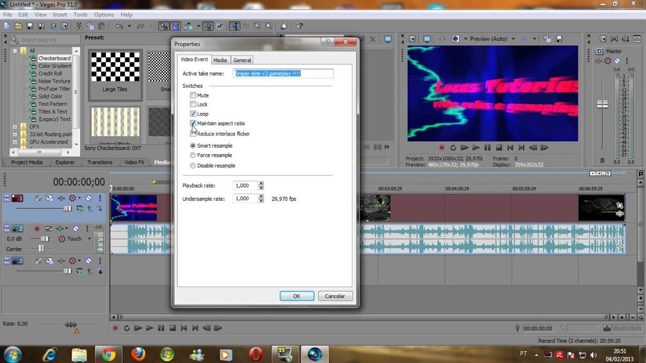 patch sony vegas pro 11 32 bit