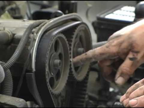 Inspecting the Timing Belt - AutoZone Car Care