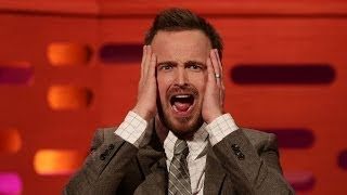 "AARON PAUL On BREAKING BAD's ""Bitch"" Catchphrase"