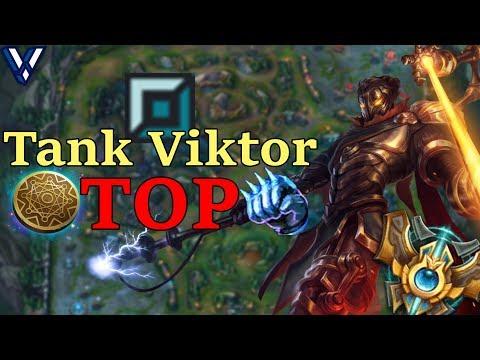 New KOREAN OP ! Tank Viktor Top Lane ?!