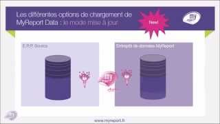 MyReport Data V8 Options de chargement