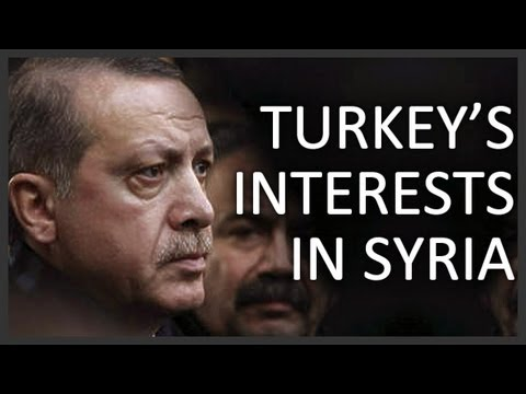 Turkey's interests in the Syrian civil war