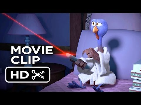 Free Birds Movie CLIP - Reggie Has It All (2013) - Owen Wilson Animated Movie HD