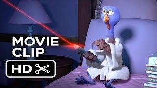 Free Birds Movie CLIP Reggie Has It All (2013) Owen