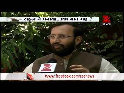 Ordinance: BJP leader Prakash Javadekar takes pot-shots at Rahul Gandhi