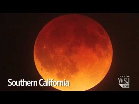Dazzling 'Blood Moon' Eclipse Across North America