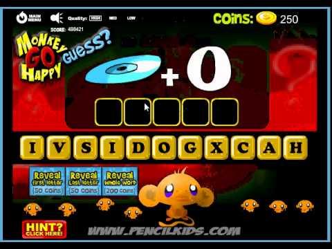 Game Chú khỉ buồn đoán chữ