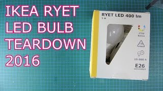 IKEA RYET LED BULB TEARDOWN: CRAZY CHEAP