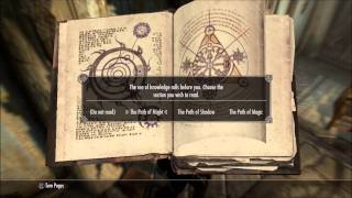Skyrim (LEVEL UP FAST! ALL SKILLS TO 100)