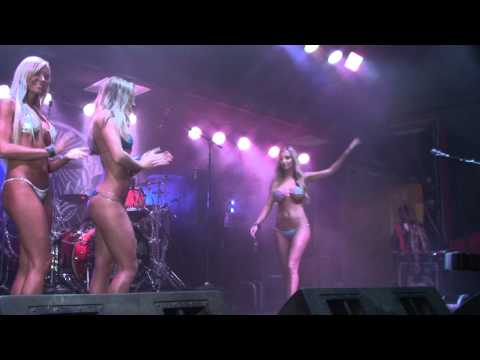 Jessica Barton in Biktoberfest Bikini Contest