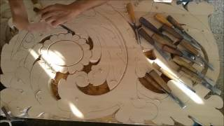 39 2 parte lecci n de talla hijos de esteban jimenez for Muebles jimenez baza