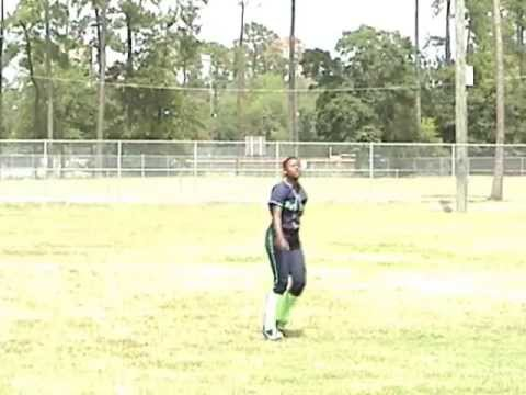 Somalia Randle Softball Skills Video