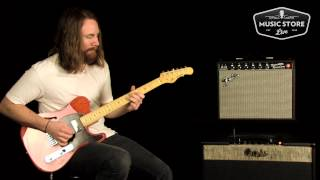 G&L ASAT Blues Boy Semi-Hollow Tone Review And Demo