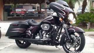 New 2014 Harley Davidson Custom Street Glide For Sale