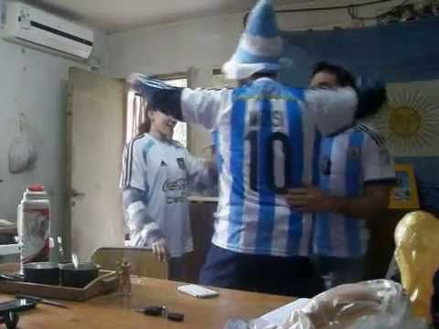 ARGENTINA 3 NIGERIA 2 GOLES DESDE EL HINCHA BRASIL 2014