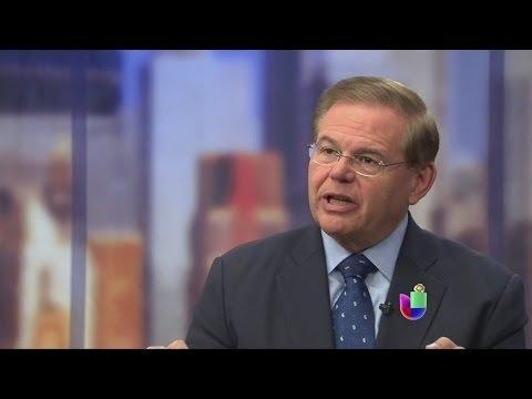 Nueva investigación al senador Bob Menendez -- Noticiero Univisión