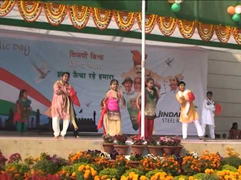 Republic Day 2014 Jindal Steel & Power Angul