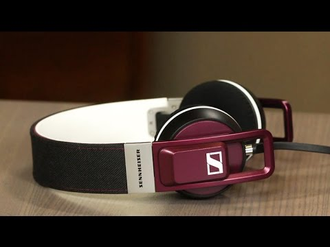 Sennheiser Urbanite: An on-ear headphone with a retro-hip design and ''now'' sound