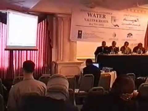 International Conferences on Water Values and Rights part 1