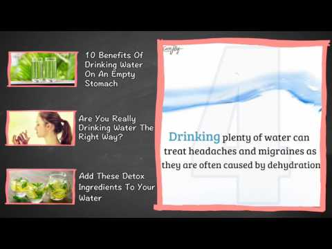 Why you should drink 8 glasses of water every day?