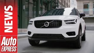 New Volvo XC40 revealed to challenge BMW X1 and Jaguar E-Pace. Auto Express.