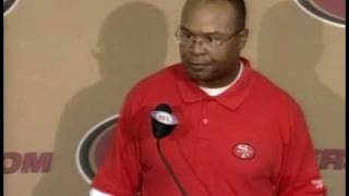 Mike Singletary Post Game After Seahawks