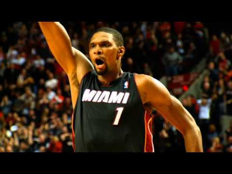 Slow-Mo: Chris Bosh Drains the Game-Winner for Miami