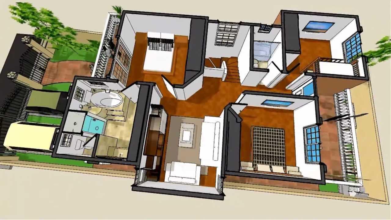 Planos de casas modelo san celso 50 arquimex planos de for Modelos de casas procrear clasica