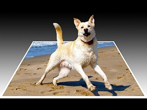 0 Photoshop: How to Make a 3D, Pop Out Photo Effect