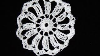 Crochet : Motivo #1 (12 Puntas)