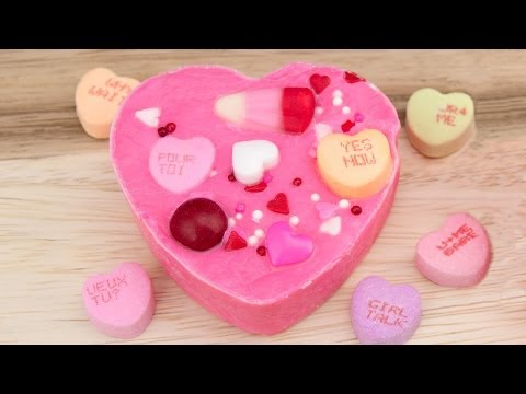 Heart Shaped Valentine Candy Chocolate Fudge Recipe