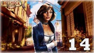 Bioshock Infinite. Серия 14 - Народный герой. [Art let´s play]