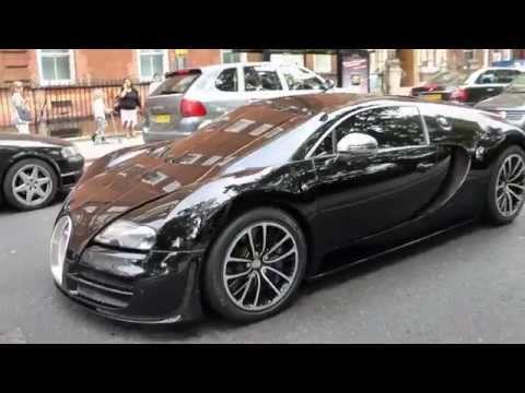 Bugatti Veyron Supersport hits London!