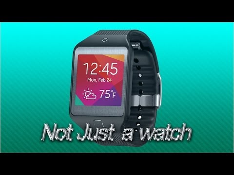 New Samsung gear watch, Samsung Gear 2 Smartwatch - Silver Black