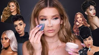 FULL FACE Using MAKEUP YOUTUBERS MADE!