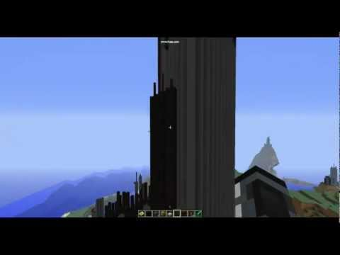 Citadel from half life 2 on minecraft youtube for Half life 2 architecture