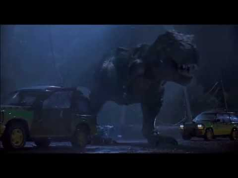 Tyrannosaurus Rex, Indominus Rex And Spinosaurus - A Light That Never Comes