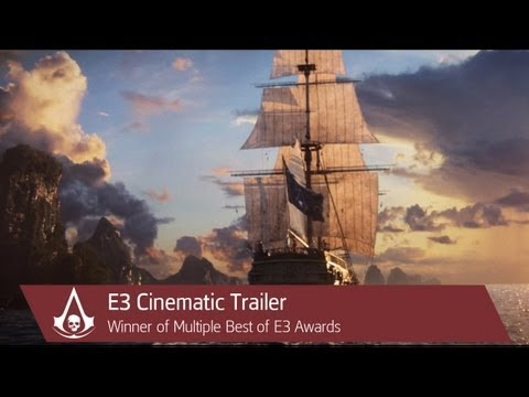 E3 Cinematic Trailer | Assassin's Creed 4 Black Flag [North America], It's 1715 and pirates rule the Caribbean. Watch as Captain Edward Kenway, a brash and brutal pirate assassin, skillfully conquers his enemy at sea and uncove...