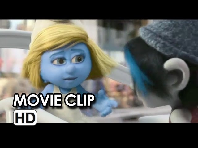 The Smurfs 2 Movie CLIP - Candy Store (2013) - Animated Sequel HD