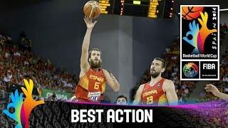 Brazil v Spain - Best Action - 2014 FIBA Basketball World Cup
