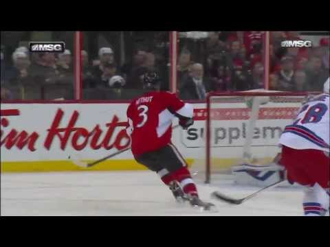 New York Rangers @ Ottawa Senators Highlights 3/18/14