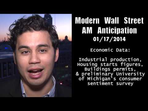 Modern Wall Street AM Anticipation: January 17, 2014