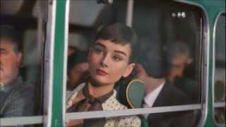 Audrey Hepburn Starring In Galaxy Chocolate UK TV