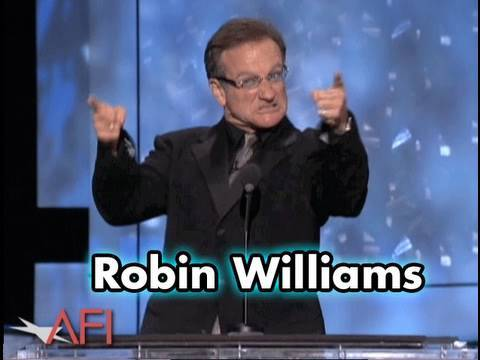 Robin Williams Salutes Robert De Niro at AFI Life Achievement Award