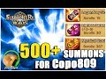 SUMMONERS WAR 500 summons for Copo809