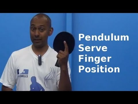 Pendulum Serve & Index Finger