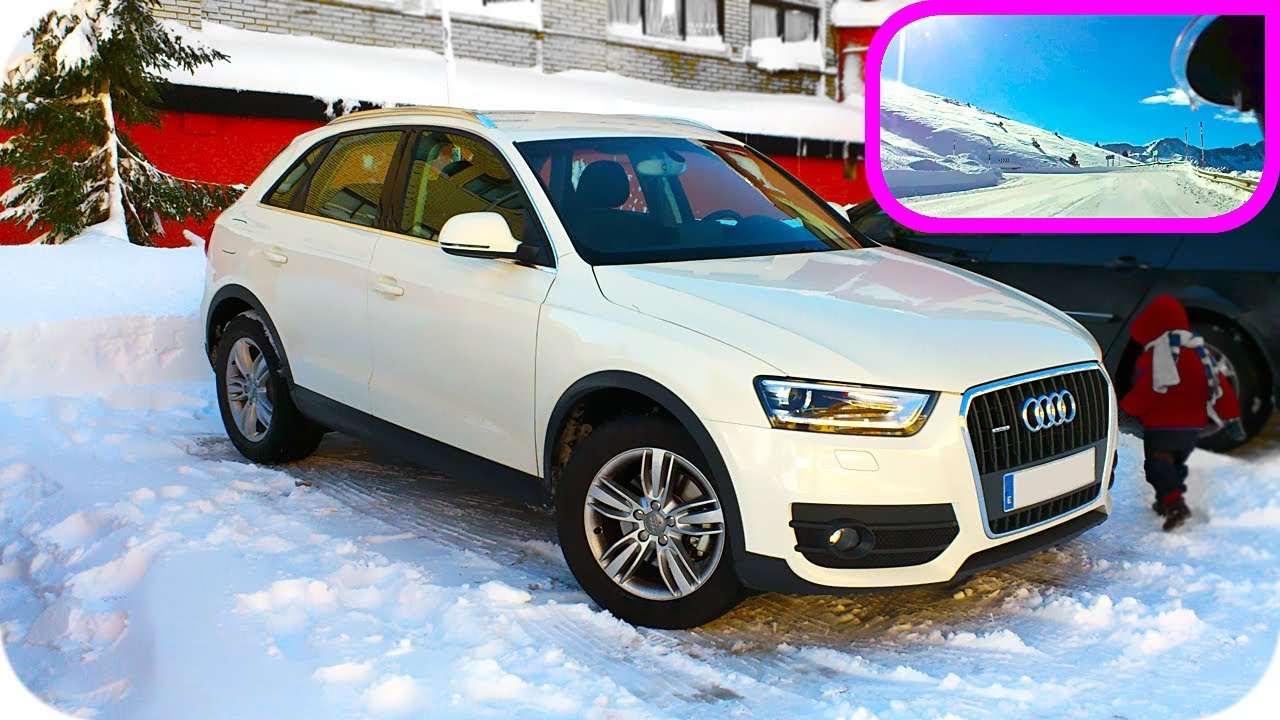 audi q3 snow test neige essai neve proba. Black Bedroom Furniture Sets. Home Design Ideas