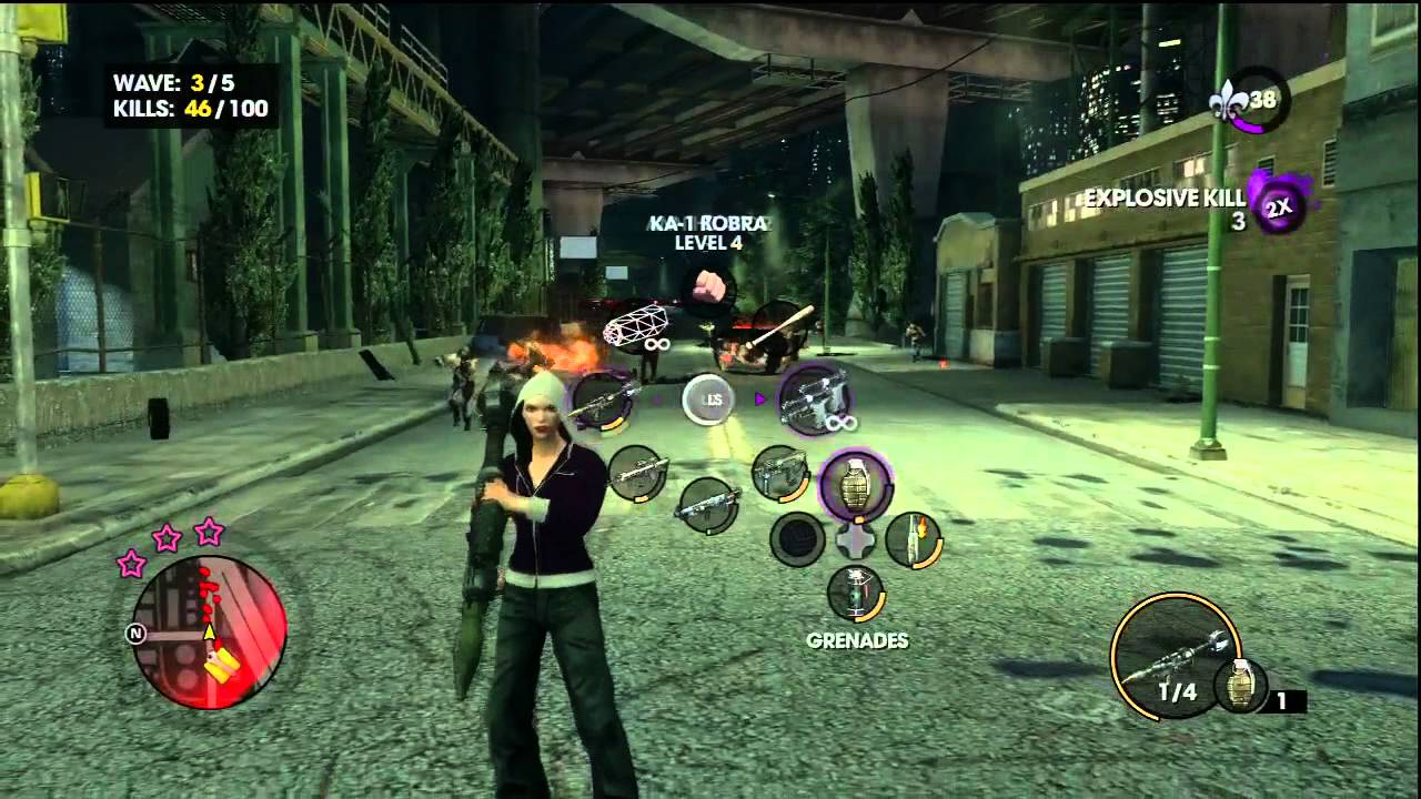how to get zombies in saints row 3