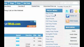 Free Proxy Sites view on youtube.com tube online.